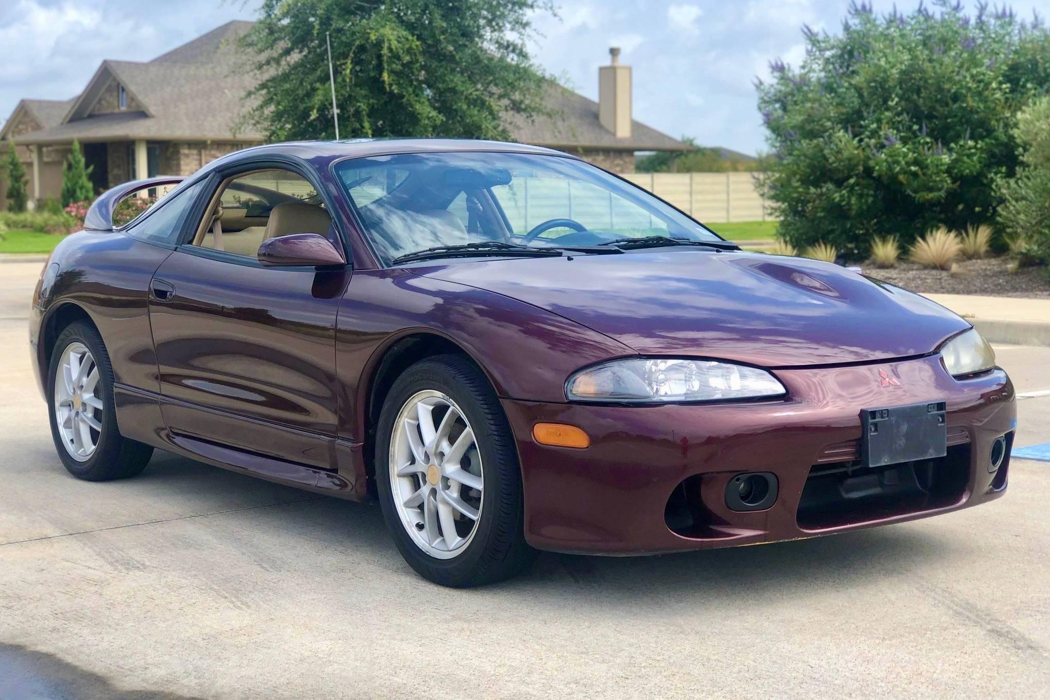 1999 Mitsubishi Eclipse Gsx Auction Cars Bids