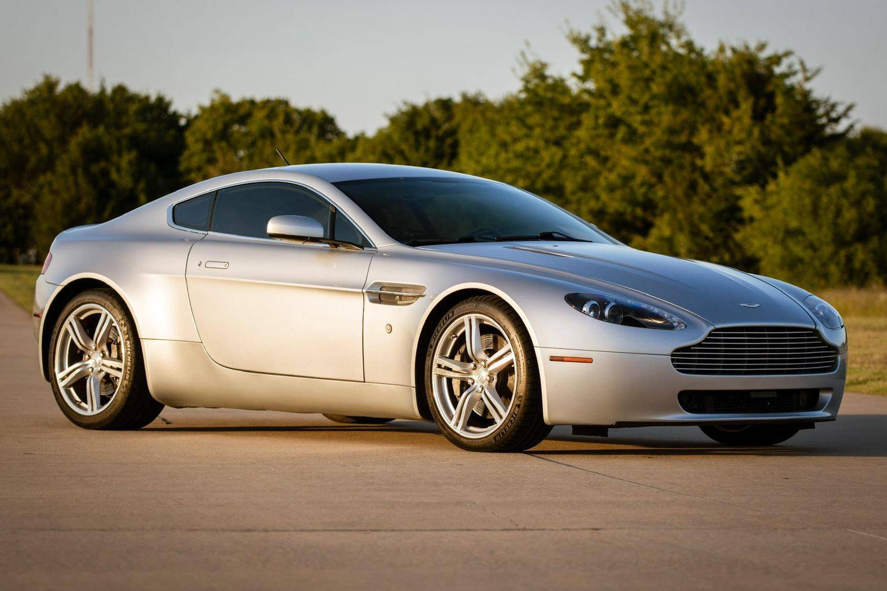 2007 Aston Martin V8 Vantage Auction Cars Bids