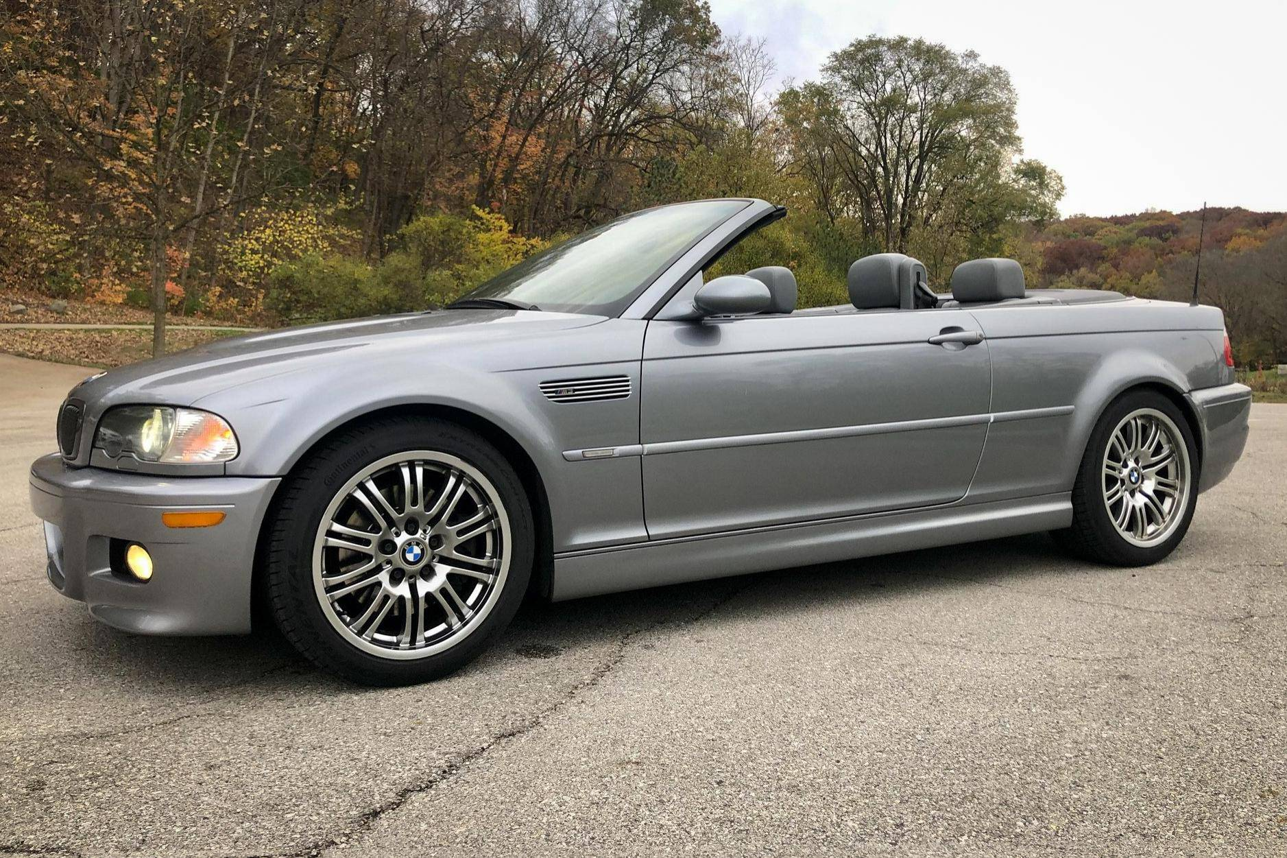 2003 Bmw M3 Convertible Auction Cars Bids