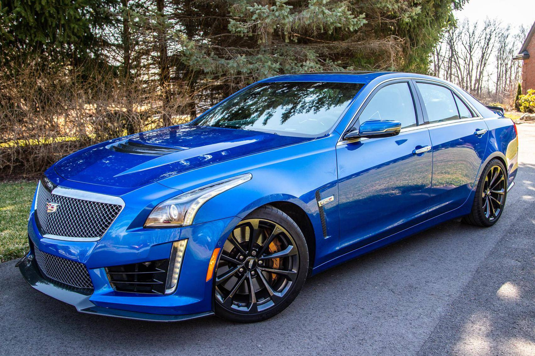 40 Cadillac CTS V Sedan auction   Cars & Bids