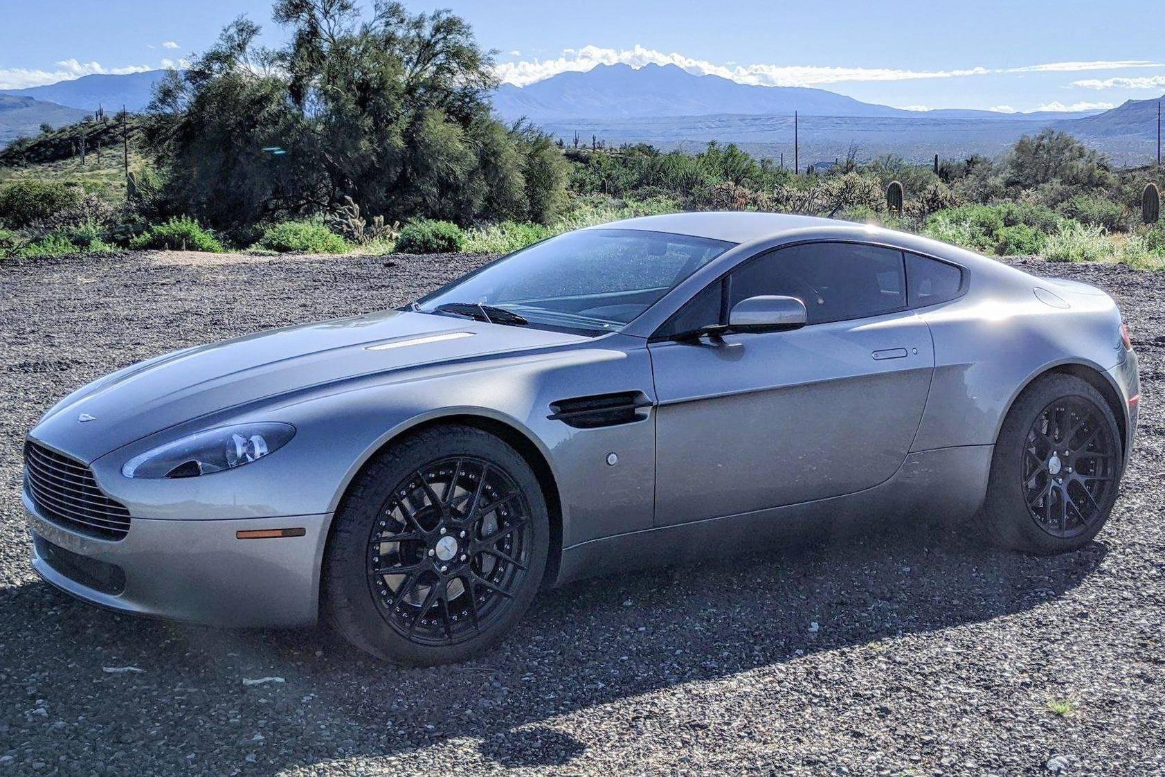 2007 Aston Martin V8 Vantage Auction Cars Bids