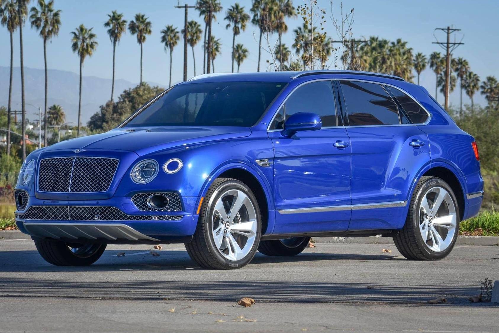 2017 Bentley Bentayga Auction Cars Bids
