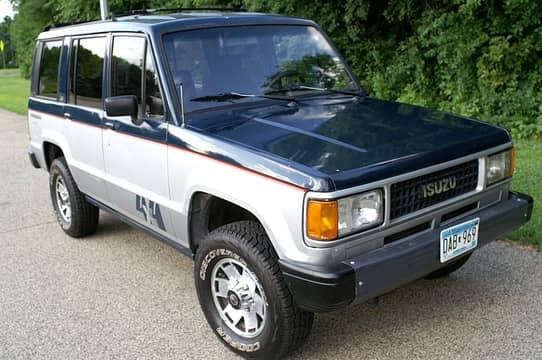 1988 Isuzu Trooper Ls Auction Cars Bids