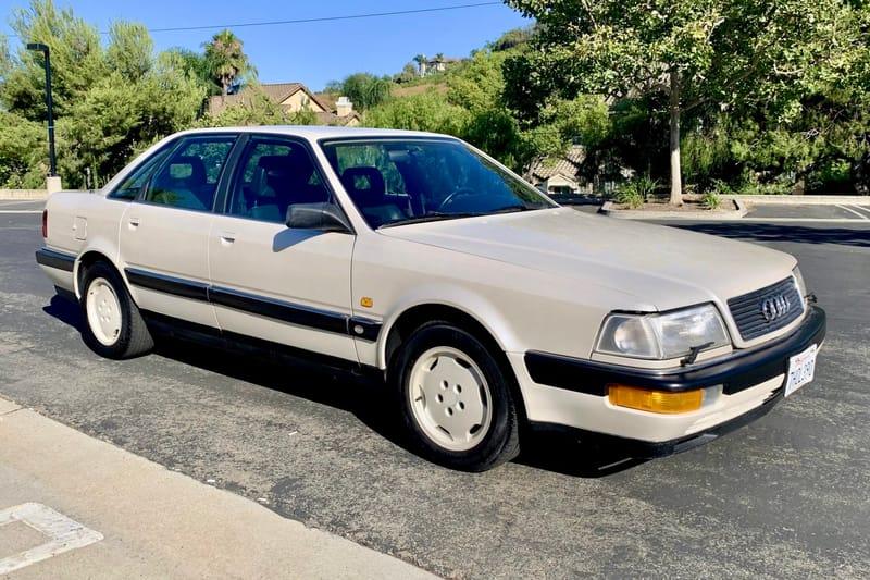 1990 Audi V8 Quattro auction - Cars & Bids